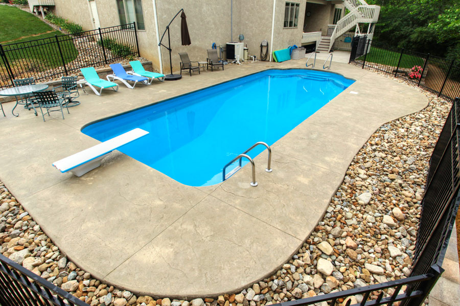 Gallery edwards pools inground and above ground pools for Fiberglass pools above ground