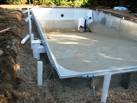 Vinyl Liner Pool Installation Edwards Pools Inground